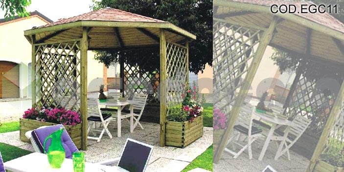 ... Design Arredamento Contract: Arredamento da esterno, Gazebi, Casette