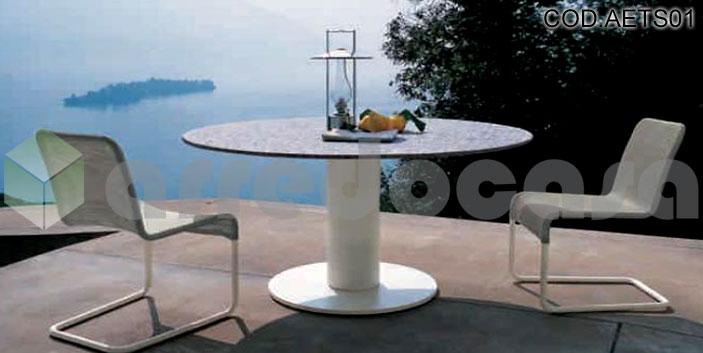 arredamento esterno tavoli ~ gitsupport for . - Tavoli E Sedie Da Giardino Design Per Esterni